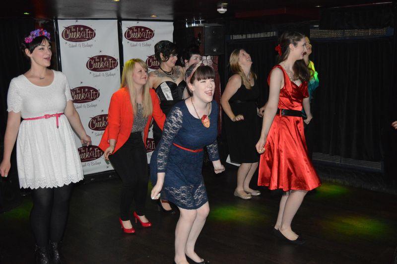 Cheeky dance 8