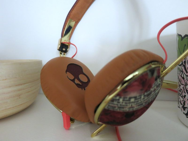 Skullcandy Floral Headphones