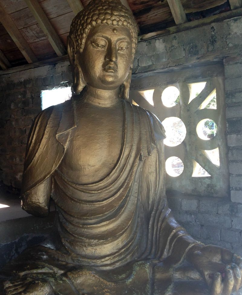 Portmeirion Buddha Sculpture