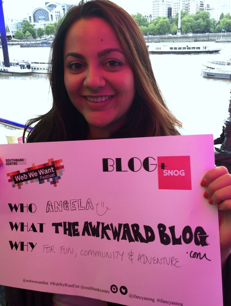 Angela Awkward Blog