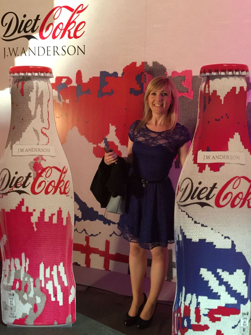 Diet Coke JW Anderson Bottle