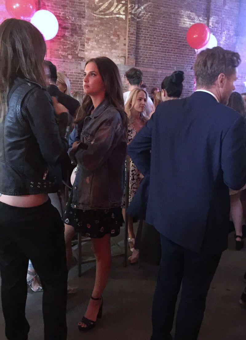 Lucy Watson Diet Coke Party