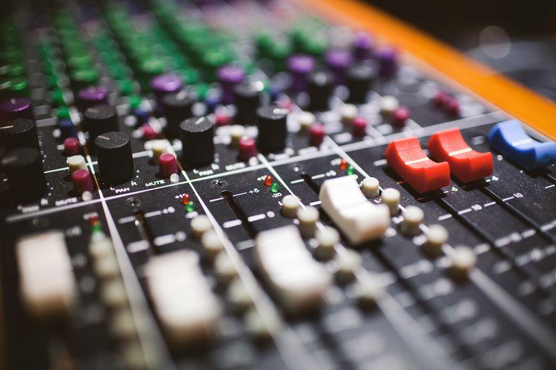 Radio Mixing Desk