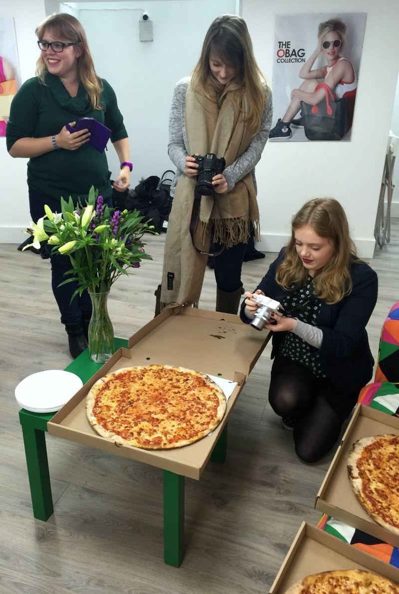 Bloggers Basilico Pizza