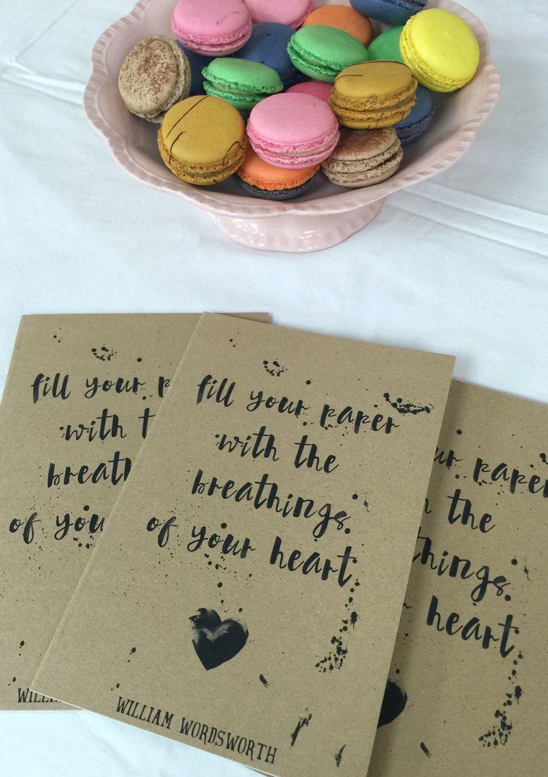 Wordsworth heart notebook Literary Emporium