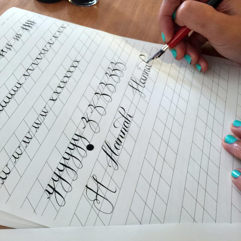 Caligraphy Writing