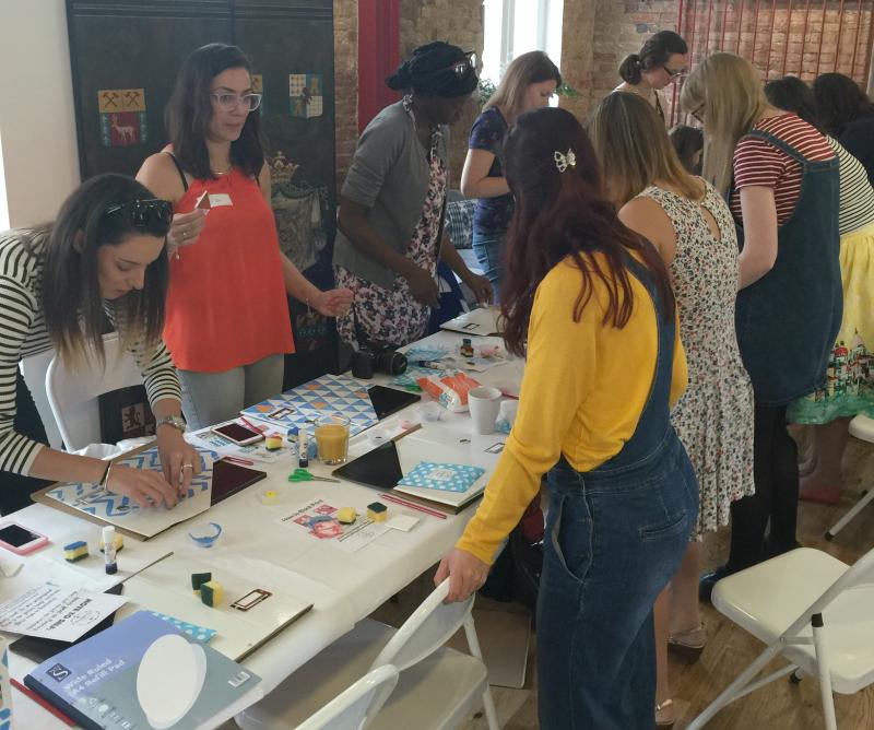 London crafting workshop
