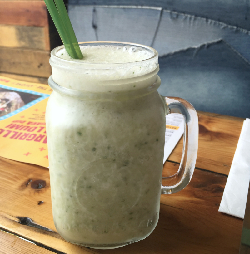 Banana Cucumber Smoothie