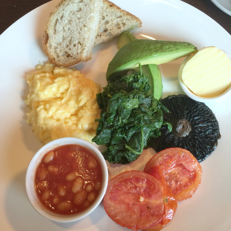 London Vegetarian Brunch