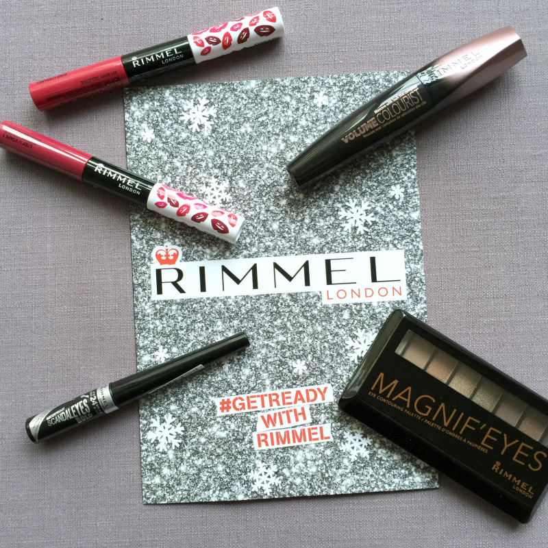 Rimmel Christmas New Year Makeup
