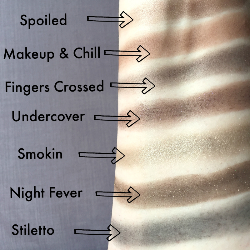 Natural Love Palette Swatches