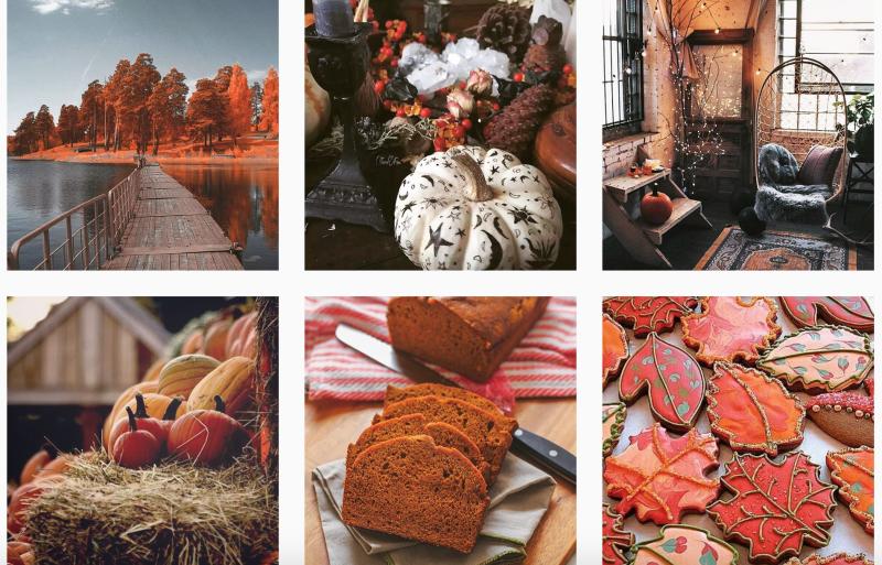 Autumn Fall Instagram Accounts
