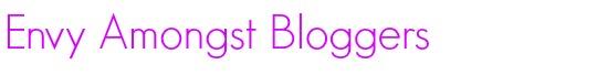 Envy amongst bloggers