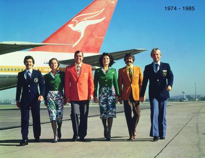 Qantas 1970s Uniform