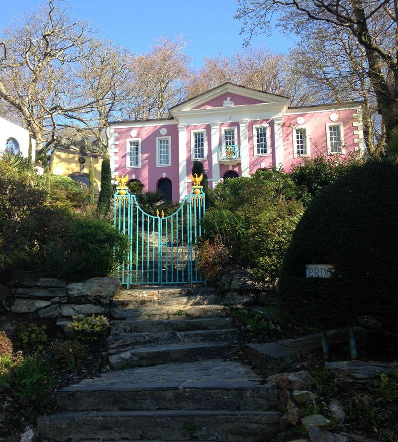 Portmeirion Pink Mansion