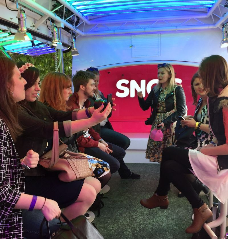 Snog Bus Party For Bloggers