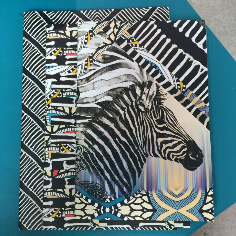 Paperchase Zebra Stationary