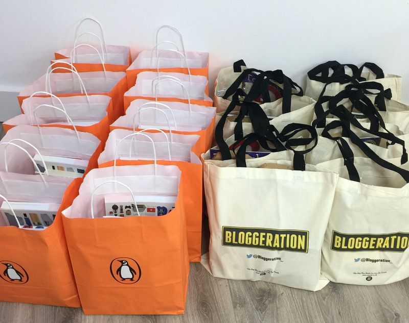 Blogger Goody Bags