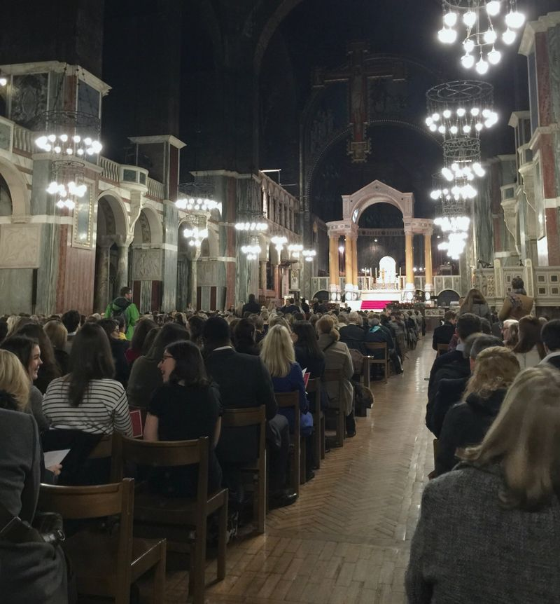Westminster Cathedral Carol Service