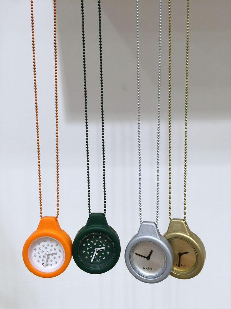 O Bag Watch Necklaces
