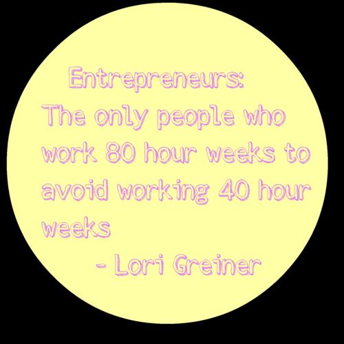 Entrepreneurs 80 Hour Week