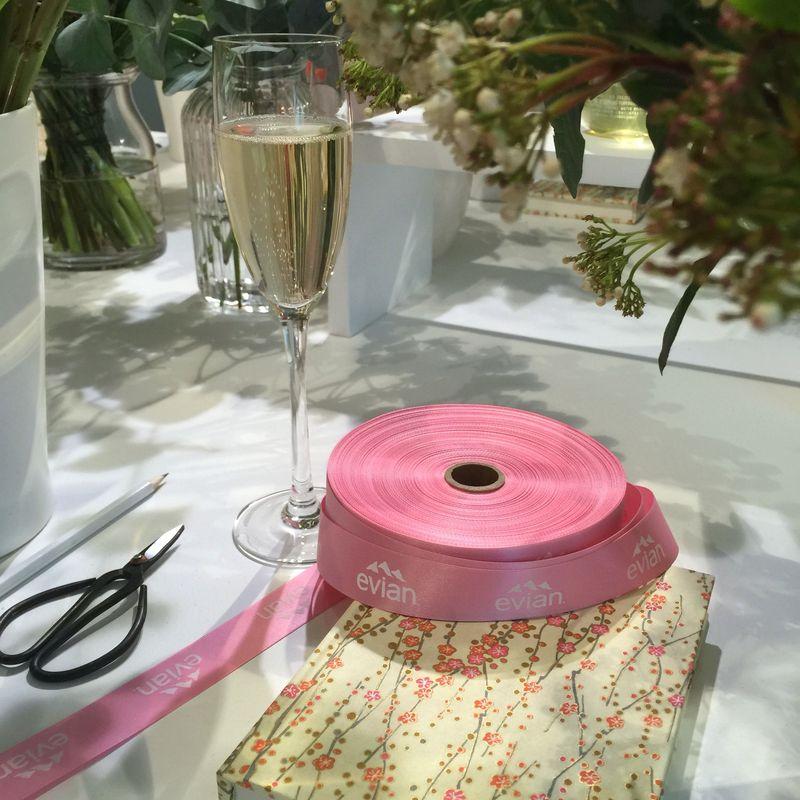 Evian Press Event Wild At Heart Flowers