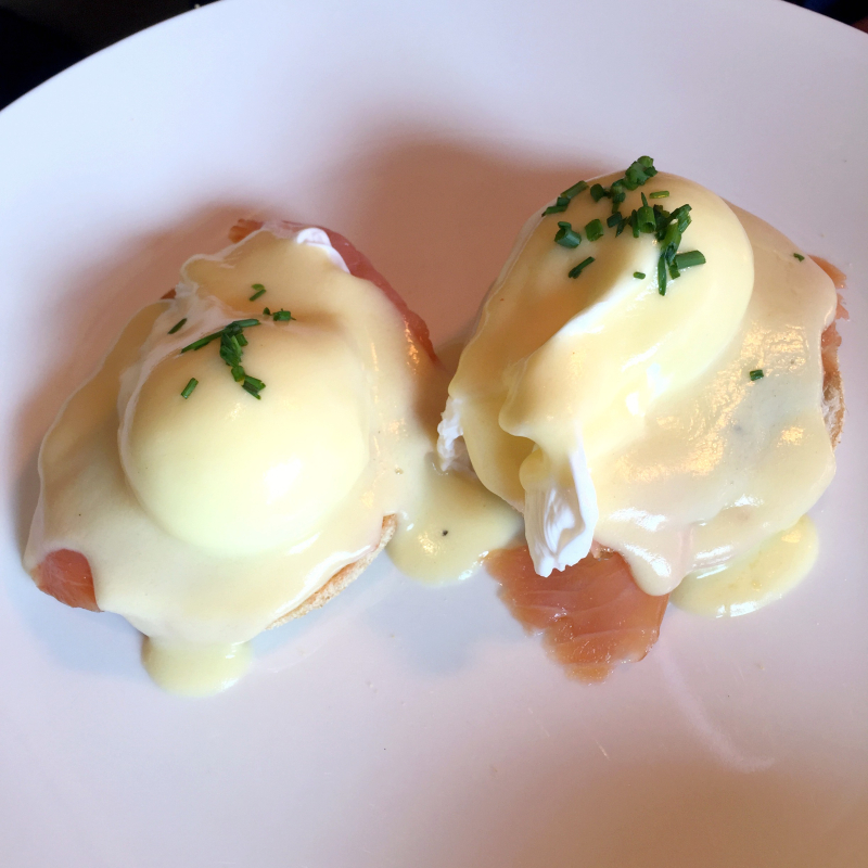 Eggs Benedict London Brunch