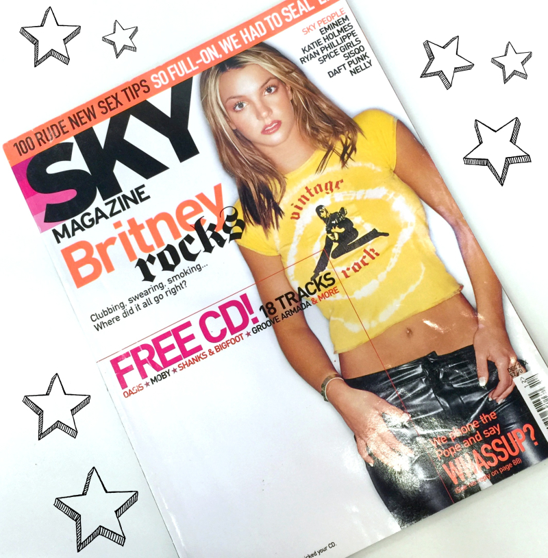 Sky Magazine Young Britney