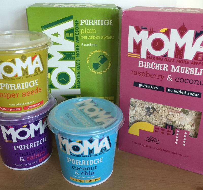 Moma Bircher Muesli Oatmeal