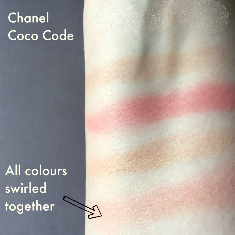 Coco Code Chanel Swatches