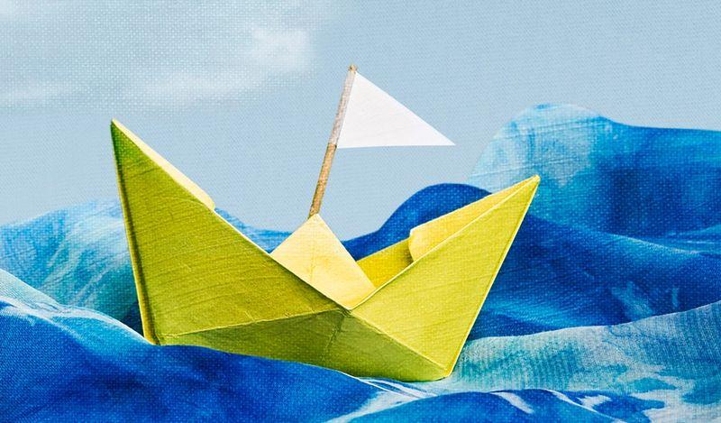 Unicorn Theatre Paper Boat