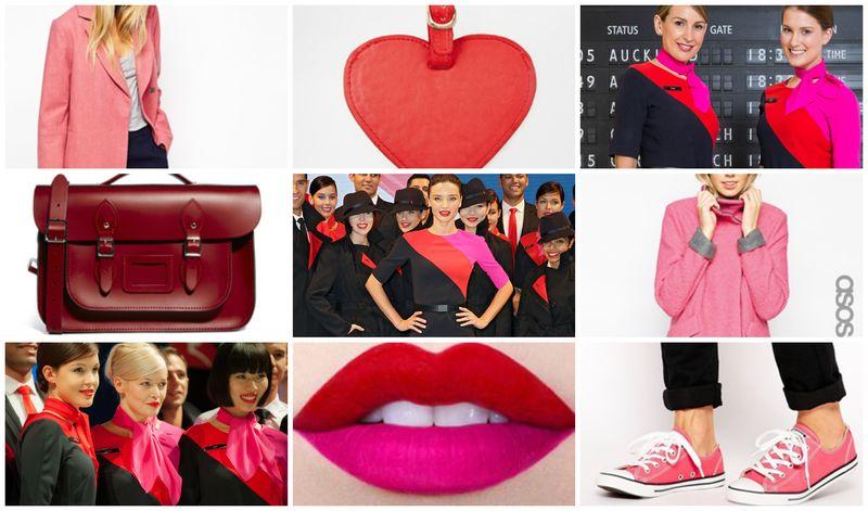 Qantas Flight Fashion