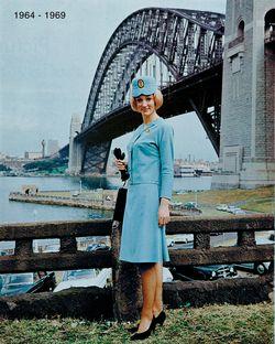 1960s Air Stewardess