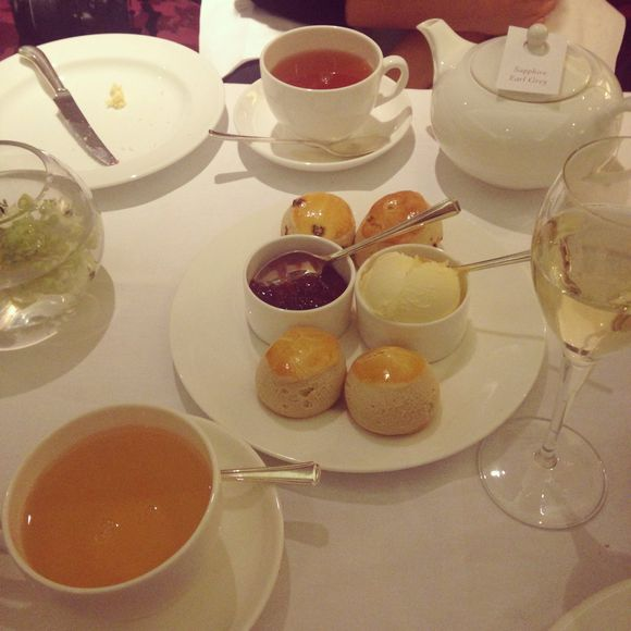 Afternoon Tea At The Lancaster Hotel