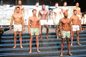 Hot Men in Underwear Clothes Show