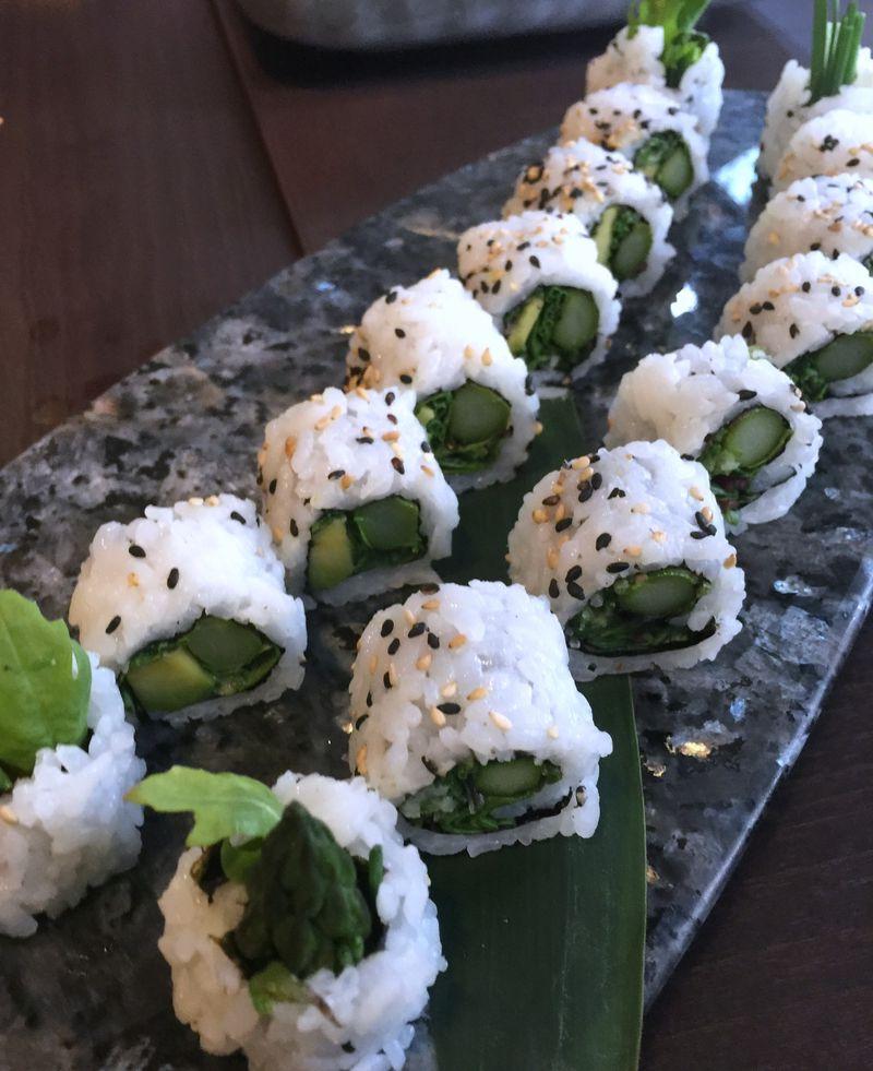 Vegetarian Sushi