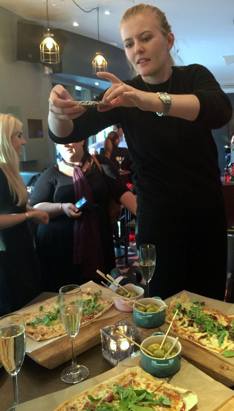 Taking blog food photos
