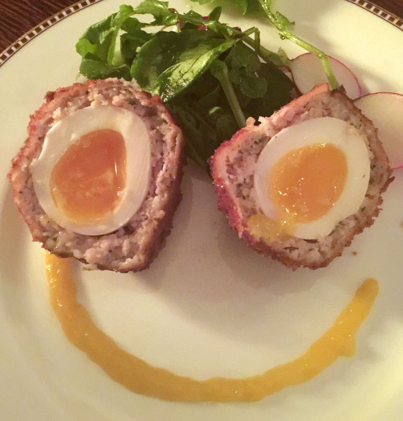 Scotch Egg Smile
