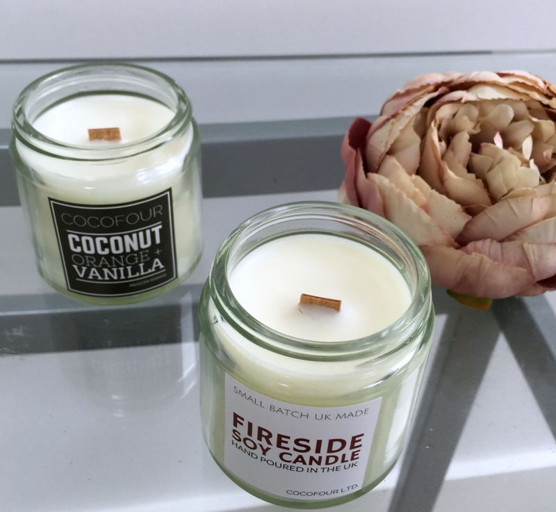 Cocofour soy candles