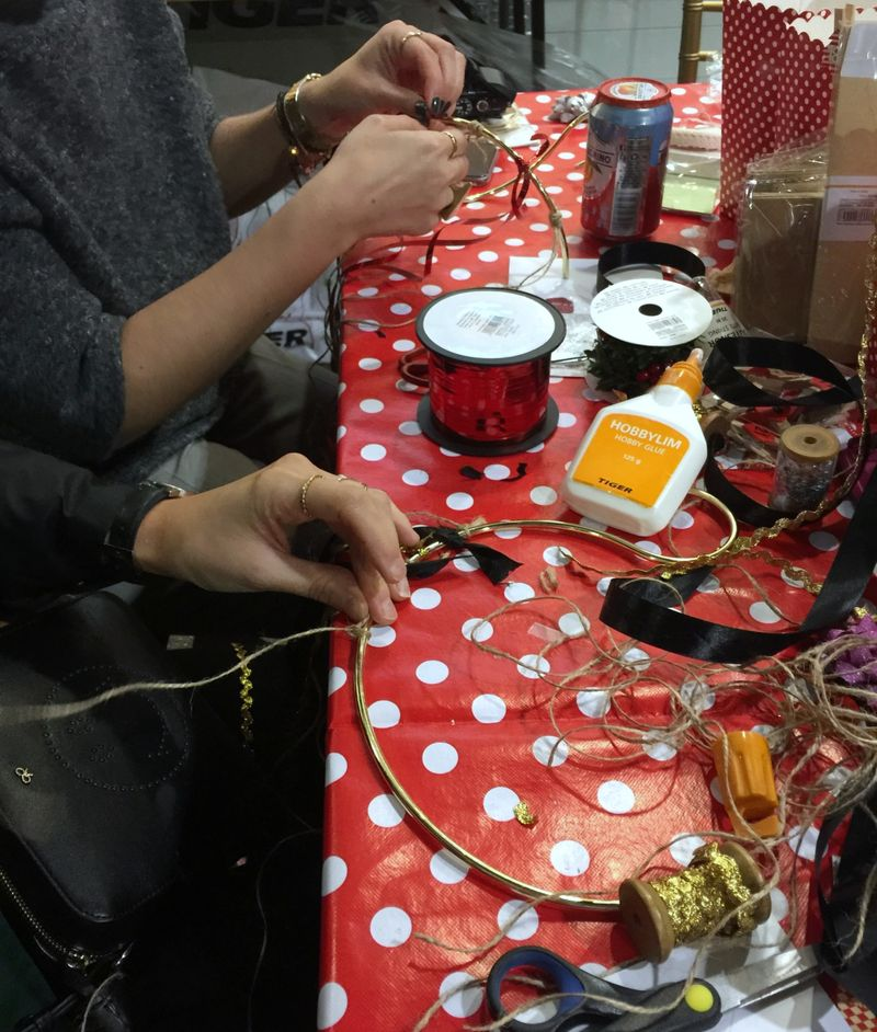 Tiger Stores Blogger Crafting