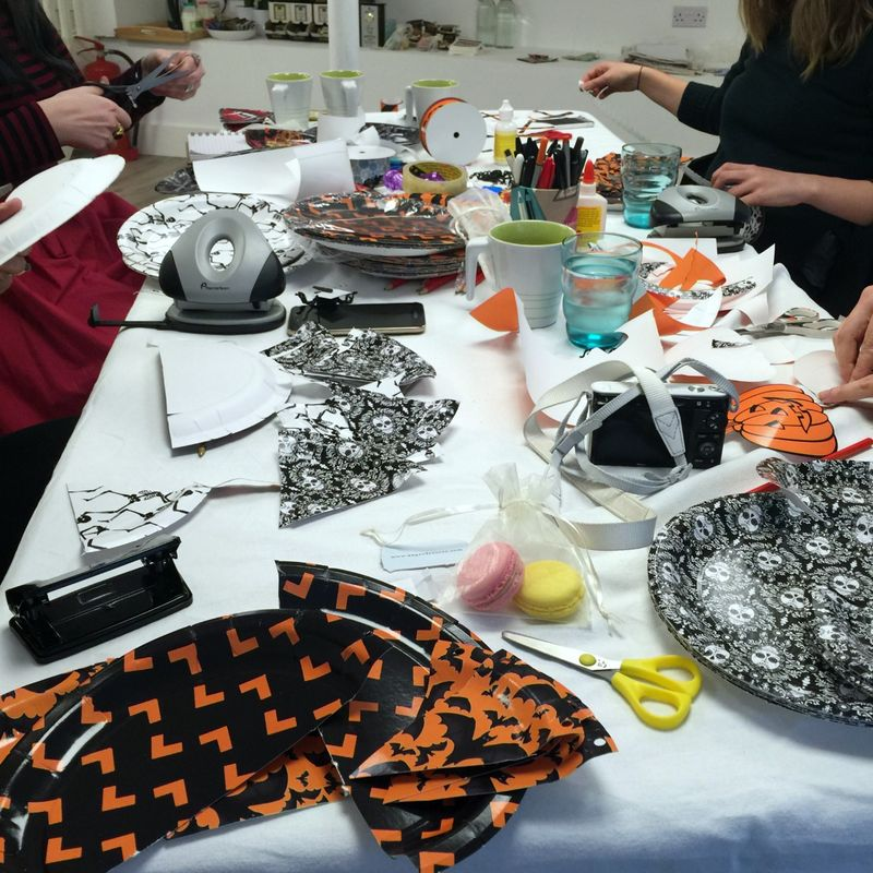 Blogger Halloween Craft Party