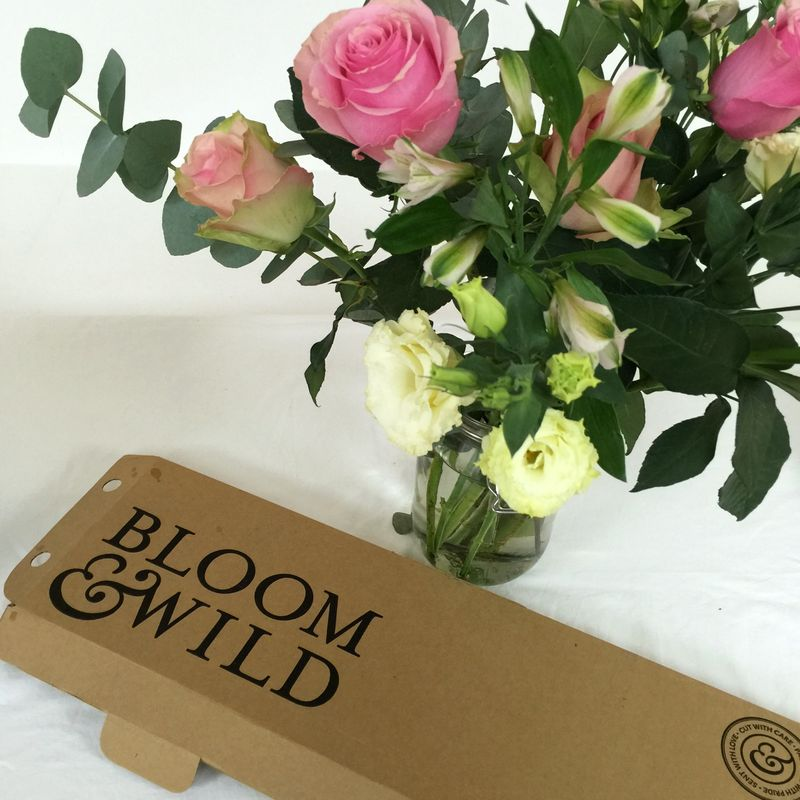 Bloom and Wild flower subscription service