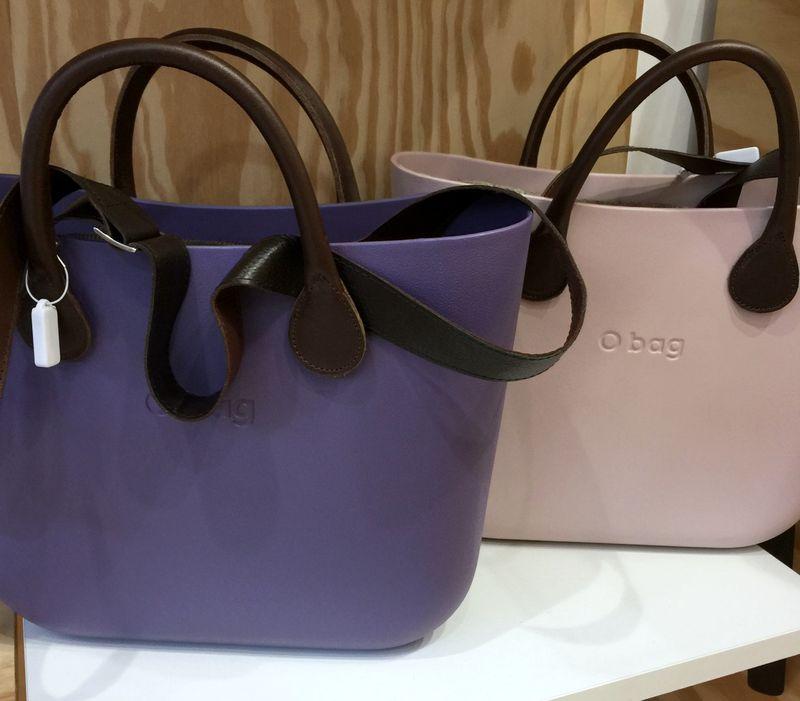 Pastel Plum O Bags