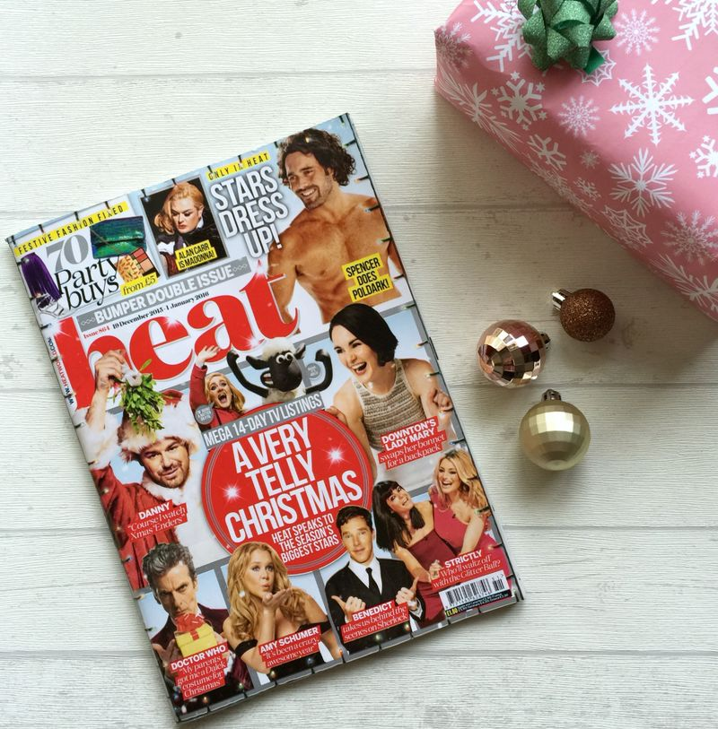 Heat Magazine Christmas Issue Subscription