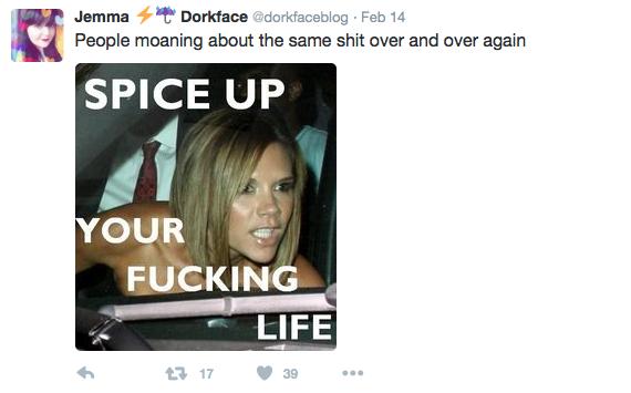 Dorkface Positive Bloggers