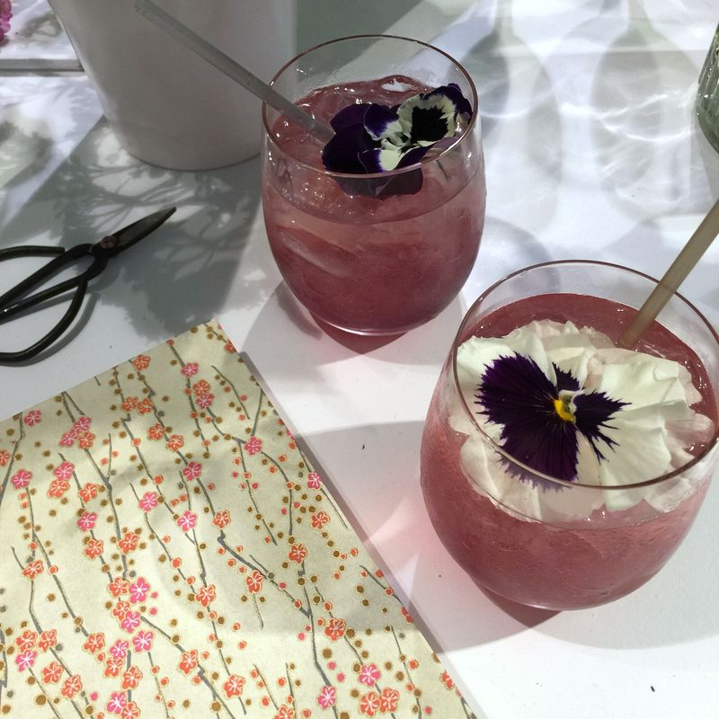 Evian Gin Cocktail
