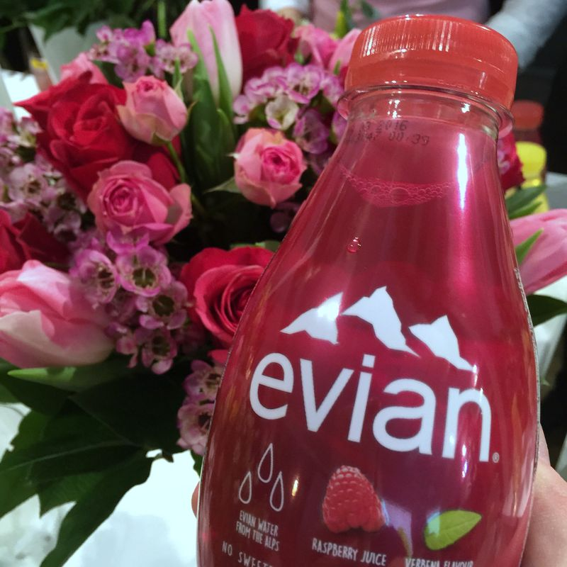 Evian Raspberry Flavour