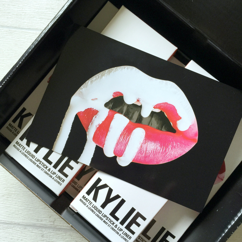 Kylie Jenner Lip Kit Box