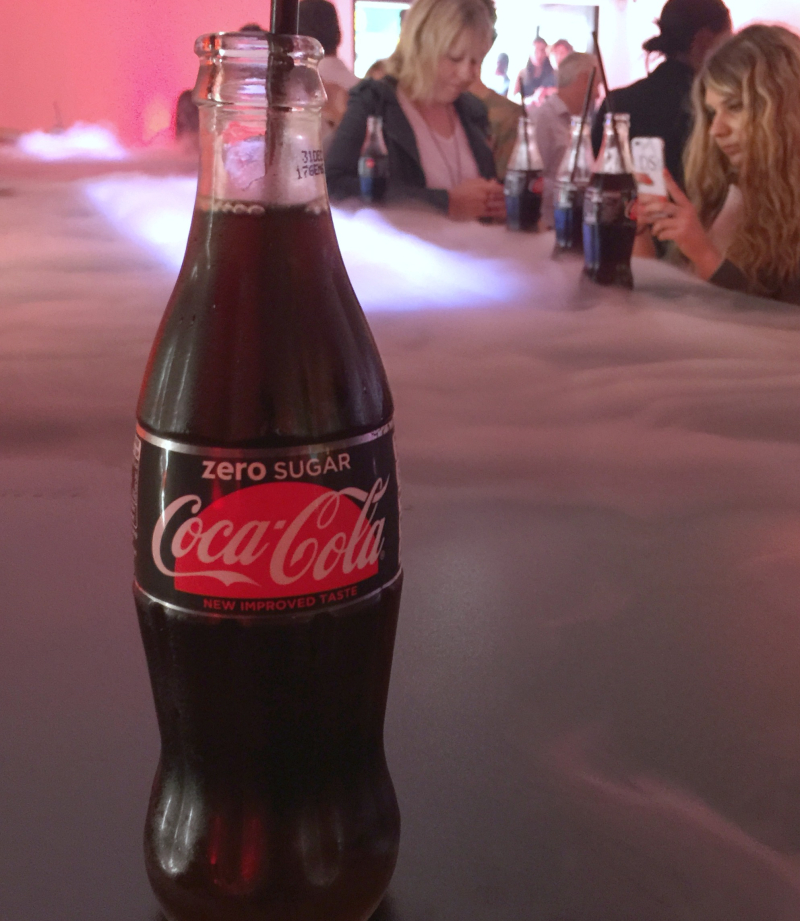 Coca Cola Zero Sugar Launch Event