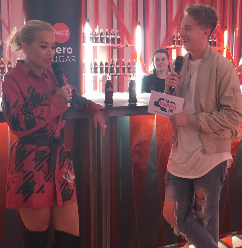 Rita Ora Roman Kemp Coke